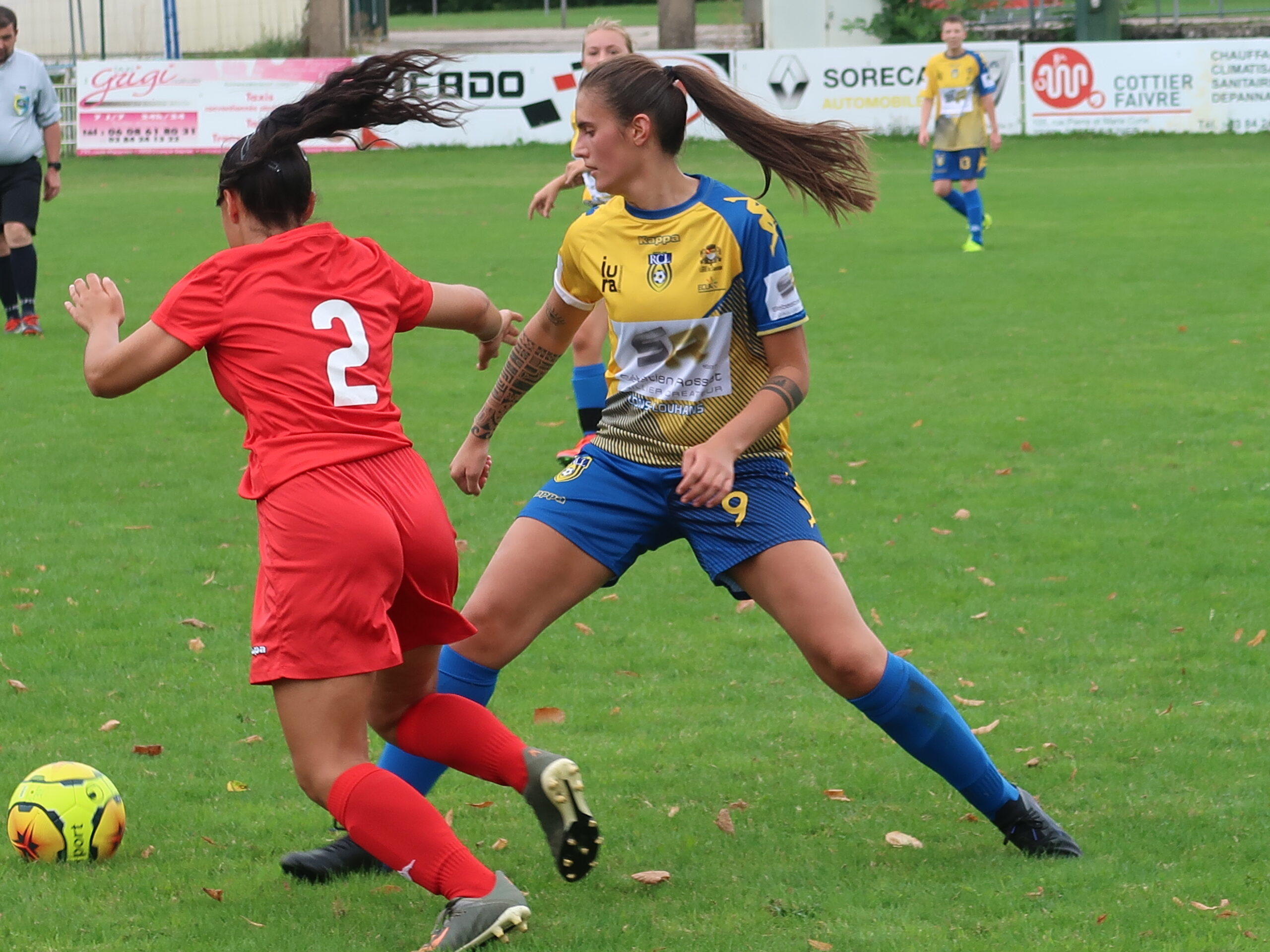 RCL-Racing Besançon féminines